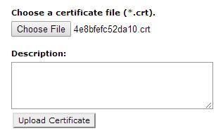 cpanel upload ssl certificates