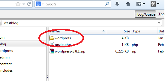 wordpress unizpped