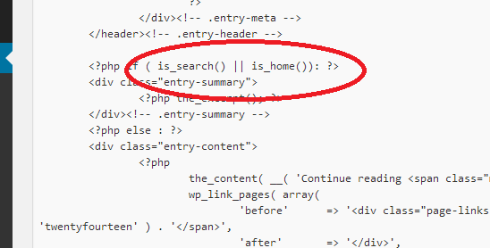 is_home in contentphp