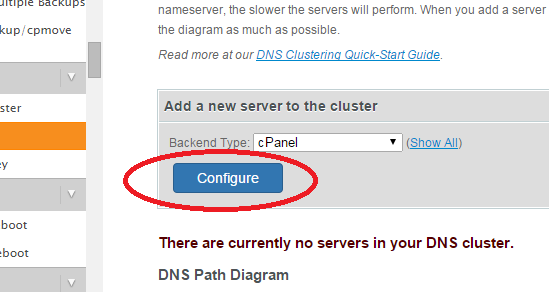 configure production