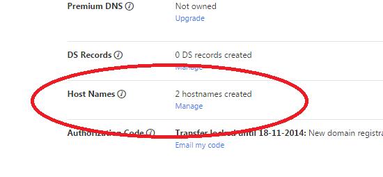 registrar hostnames