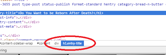 entry-title css