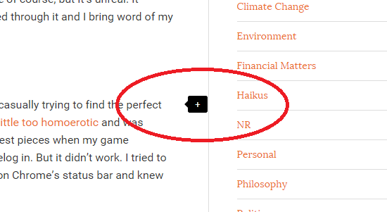 inline comment provision