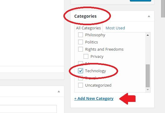slot into category
