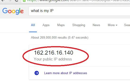 get IP address