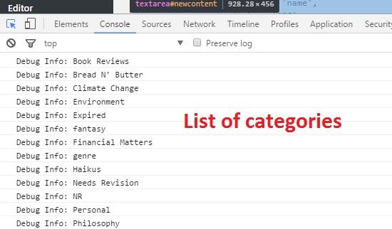 list-of-categories