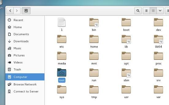 A VNC GNOME Session